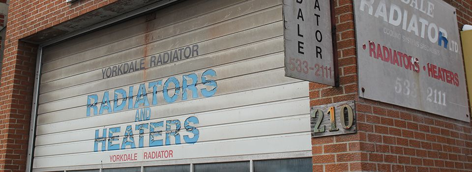 Front of Yorkdale Radiator Ltd.